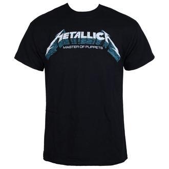 tričko pánske Metallica - Master of Puppets Blue Poster - Black, Metallica
