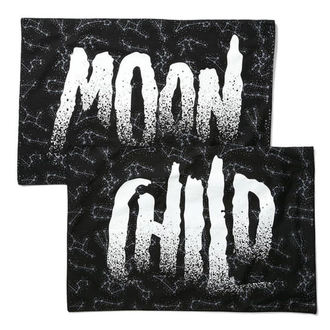 povlak na vankúš KILLSTAR - Moon Child - Black, KILLSTAR