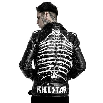 bunda pánska (křivák) KILLSTAR - Morgue Master - Black, KILLSTAR