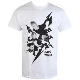 tričko pánske Metallica - Aerial Band - White - RTMTLTSWAER