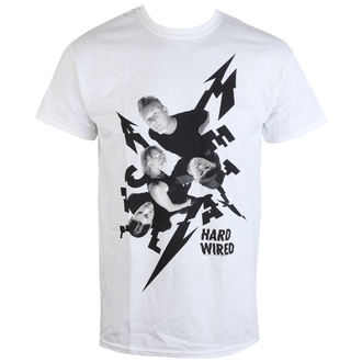 tričko pánske Metallica - Aerial Band - White, Metallica