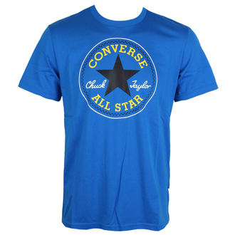 tričko pánske CONVERSE - Core Seasonal Cp - blue (soar), CONVERSE