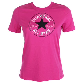 tričko dámske CONVERSE - CORE SOLID CHUCK - PINK, CONVERSE