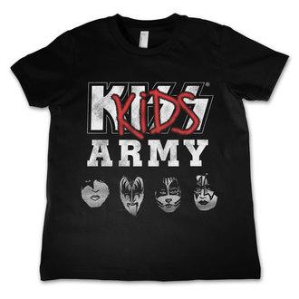 tričko detské KISS - Army - HYBRIS, HYBRIS, Kiss