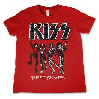 tričko detské KISS - Destroyer - HYBRIS, HYBRIS, Kiss