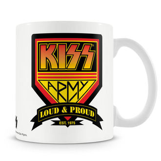 hrnček KISS - Army - HYBRIS, HYBRIS, Kiss