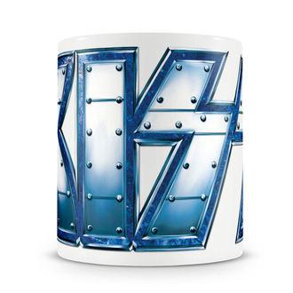 hrnček KISS - Metal Logo - HYBRIS, HYBRIS, Kiss