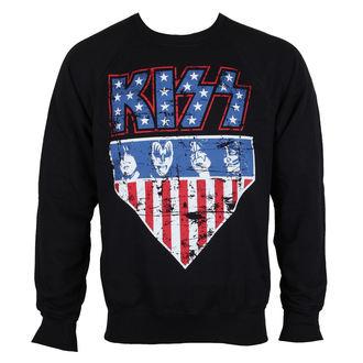 mikina pánska KISS - Stars & Stripes - HYBRIS, HYBRIS, Kiss