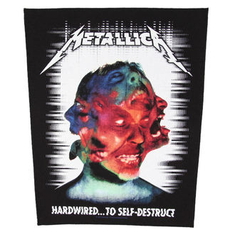 nášivka METALLICA - HARDWIRED TO SELF DESTRUCT - RAZAMATAZ, RAZAMATAZ, Metallica