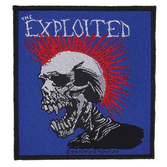 nášivka THE EXPLOITED - MOHICAN MULTICOLOUR - RAZAMATAZ, RAZAMATAZ, Exploited