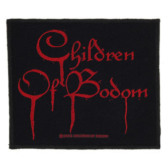 nášivka CHILDREN OF BODOM - BLOOD LOGO - RAZAMATAZ, RAZAMATAZ, Children of Bodom