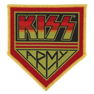 nášivka KISS - KISS ARMY BADGE - RAZAMATAZ, RAZAMATAZ, Kiss