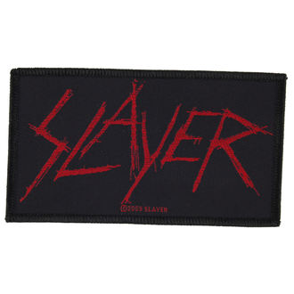 nášivka SLAYER - SCRATCHED LOGO - RAZAMATAZ, RAZAMATAZ, Slayer