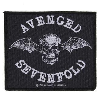 nášivka AVENGED SEVENFOLD - DEATH BAT - RAZAMATAZ, RAZAMATAZ, Avenged Sevenfold