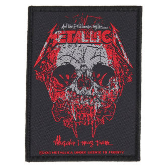nášivka METALLICA - WHEREVER I MAY ROAM - RAZAMATAZ, RAZAMATAZ, Metallica