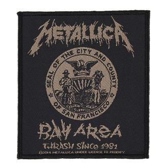 nášivka METALLICA - BAY AREA THRASH - RAZAMATAZ, RAZAMATAZ, Metallica