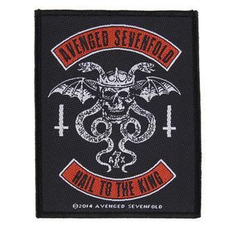 nášivka AVENGED SEVENFOLD - BIKER - RAZAMATAZ, RAZAMATAZ, Avenged Sevenfold