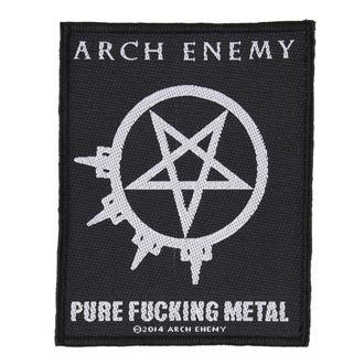 nášivka ARCH ENEMY - PURE FUCKING METAL - RAZAMATAZ, RAZAMATAZ, Arch Enemy