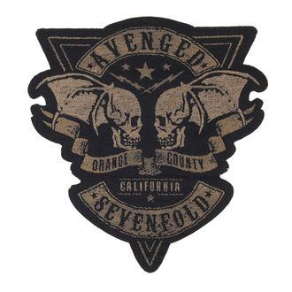 nášivka AVENGED SEVENFOLD - ORANGE COUNTY CUT OUT - RAZAMATAZ, RAZAMATAZ, Avenged Sevenfold
