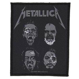 nášivka METALLICA - UNDEAD - RAZAMATAZ, RAZAMATAZ, Metallica