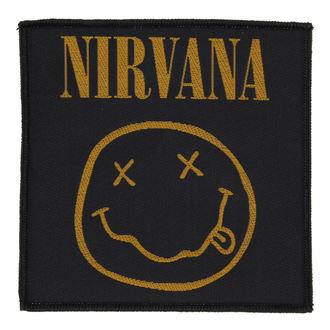 nášivka NIRVANA - SMILEY - RAZAMATAZ, RAZAMATAZ, Nirvana
