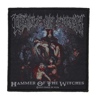 nášivka CRADLE OF FILTH - HAMMER OF THE WITCHES - RAZAMATAZ, RAZAMATAZ, Cradle of Filth
