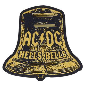 nášivka AC/DC - HELLS BELLS CUT OUT - RAZAMATAZ, RAZAMATAZ, AC-DC
