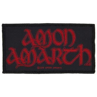 nášivka AMON AMARTH - RED LOGO - RAZAMATAZ, RAZAMATAZ, Amon Amarth