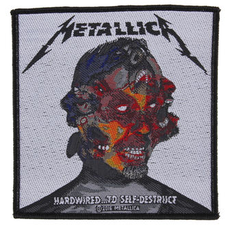 nášivka METALLICA - HARDWIRED TO SELF DESTRUCT - RAZAMATAZ, RAZAMATAZ, Metallica