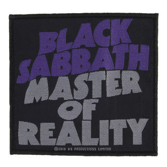 nášivka BLACK SABBATH - MASTER OF REALITY - RAZAMATAZ, RAZAMATAZ, Black Sabbath