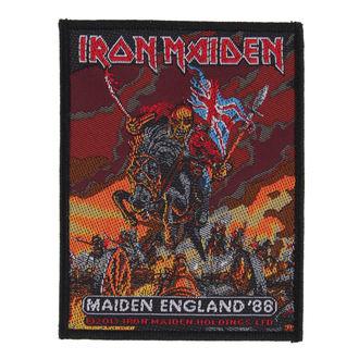 nášivka IRON MAIDEN - MAIDEN ENGLAND - RAZAMATAZ, RAZAMATAZ, Iron Maiden