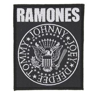 nášivka RAMONES - CLASSIC SEAL - RAZAMATAZ, RAZAMATAZ, Ramones