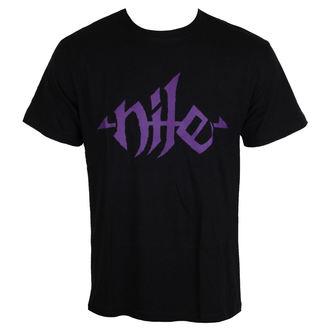 tričko pánske NILE - Purple Logo, NNM, Nile