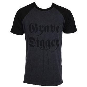 tričko pánske GRAVE DIGGER - Charcoal/Black, NNM, Grave Digger