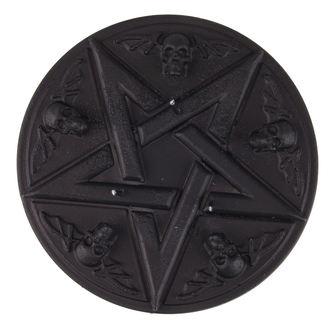 sviečka Pentagram - Black Matt