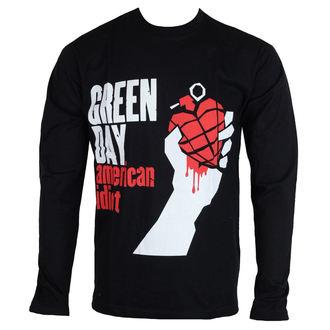 tričko pánske s dlhým rukávom Green Day - American Idiot - ROCK OFF, ROCK OFF, Green Day