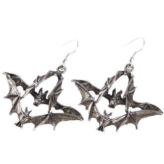 náušnice BATS