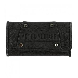 peňaženka METAL MULISHA - ROUND UP - BLK, METAL MULISHA