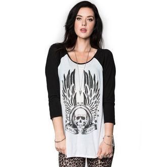 tričko dámske s 3/4 rukávom METAL MULISHA - ALL NIGHT, METAL MULISHA