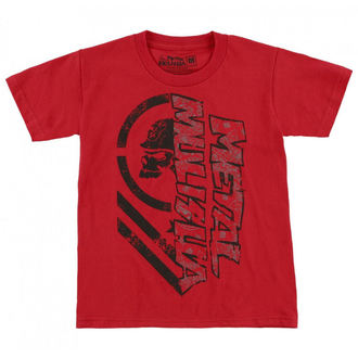 tričko detské METAL MULISHA - BURN, METAL MULISHA