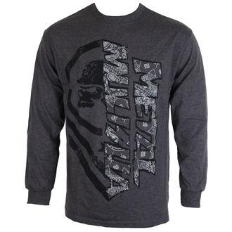 tričko pánske s dlhým rukávom METAL MULISHA - BURN - CHH, METAL MULISHA