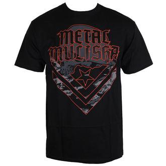 tričko pánske METAL MULISHA - CAM - BLK - BLK_SP7518018.01
