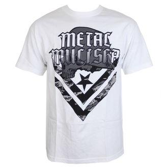 tričko pánske METAL MULISHA - CAM - WHT, METAL MULISHA
