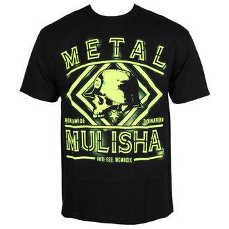 tričko pánske METAL MULISHA - DUST - BLK, METAL MULISHA