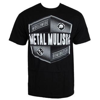 tričko pánske METAL MULISHA - EMBLEM - BLK, METAL MULISHA