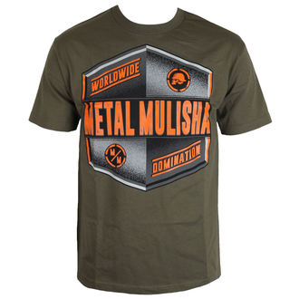 tričko pánske METAL MULISHA - EMBLEM - MGN, METAL MULISHA