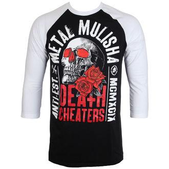 tričko pánske s 3/4 rukávom METAL MULISHA - EPITAPH - BLW, METAL MULISHA