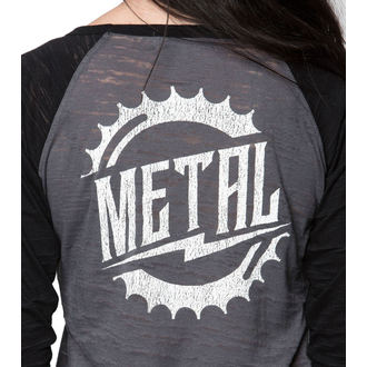 tričko dámske s 3/4 rukávom METAL MULISHA - RIDER BURNOUT