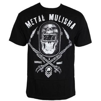 tričko pánske METAL MULISHA - TORCHED - BLK, METAL MULISHA