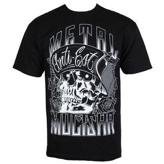 tričko pánske METAL MULISHA - WOODCUT - BLK, METAL MULISHA